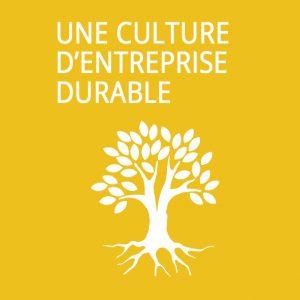 Une culture d'entreprise durable